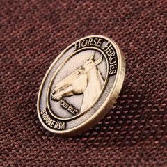 Horse Heroes Lapel Pins