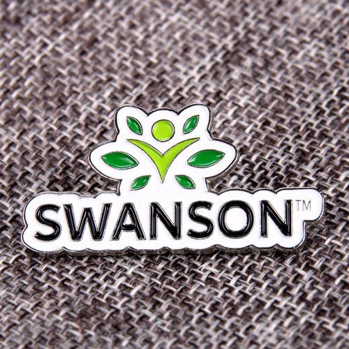 Green Swanson Lapel Pins