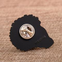 Blackmen Smily Lapel Pins