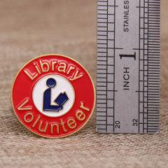 Library Volunteers Lapel Pins