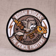 Riders Personalized Patches