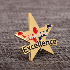 Five Pointed Star Lapel Pins