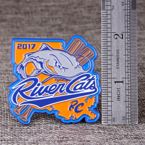 River Cats Baseball Trading Pins