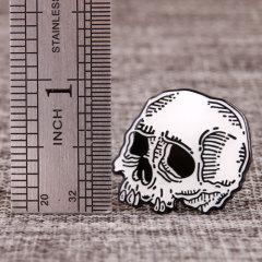 Shiny Skull Custom Pins