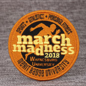 March Madness Cheap Patches