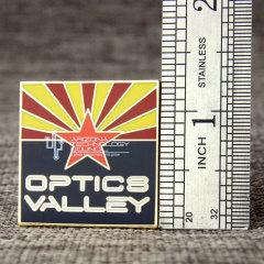 Optics Valley Lapel Pins