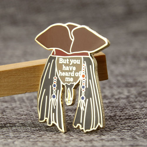 Guy With Hat Lapel Pins