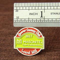 Quarter Century Club Pins