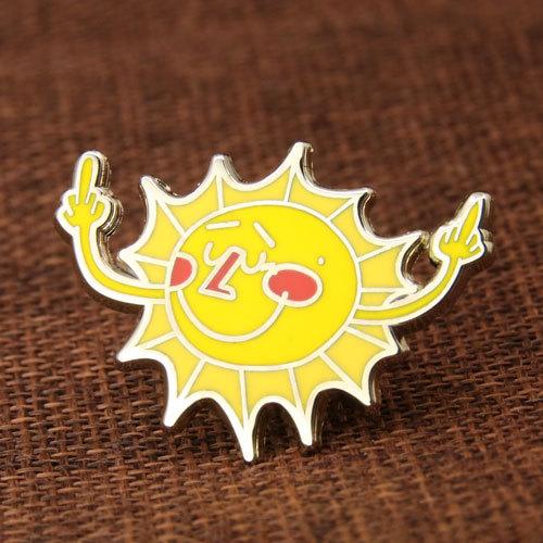 Sunshine Lapel Pins
