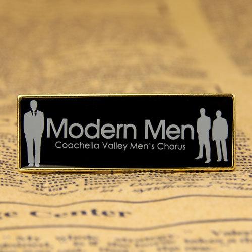 Modern Men Lapel Pins