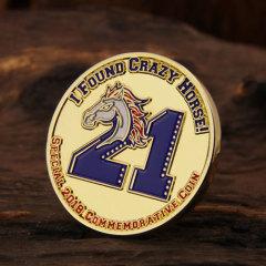 Travel Sports Baseball Challenge Coins