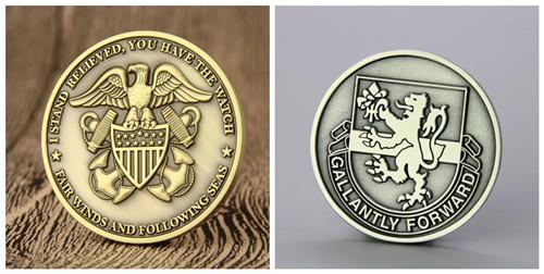 2D Versus 3D Challenge Coins