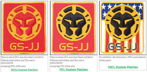 50% patches,75% patches,100% patches