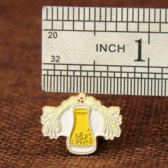 Flower Bottle Lapel Pins