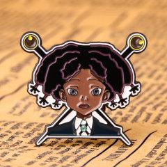 School Girl Lapel Pins