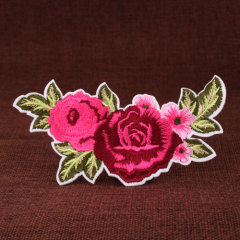 Flower Cheap Custom Patches