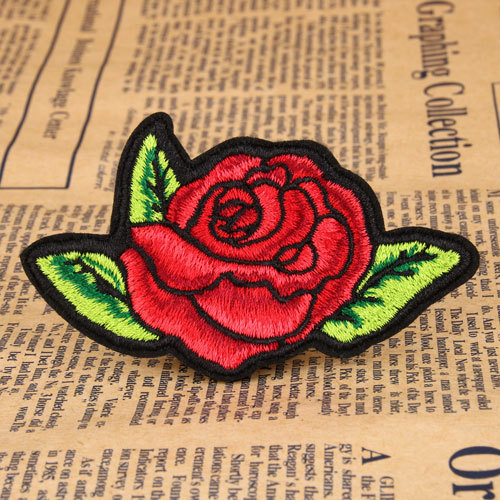Rose Custom Made Patches