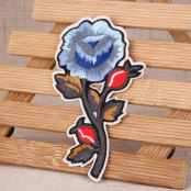 Flower Custom Patches No Minimum