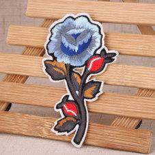 Flower Custom Patches No Minimum
