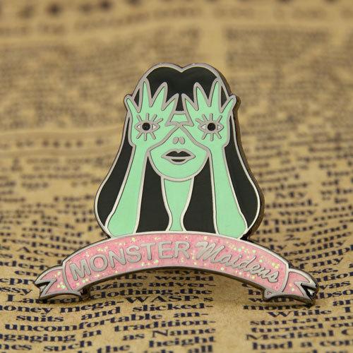 Monster Maiden Lapel Pin