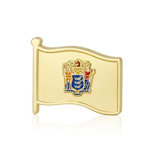 New Jersey State Flag Pins