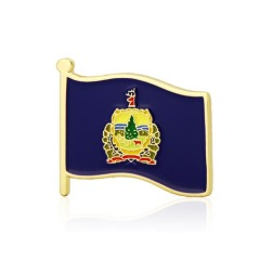 Vermont State Flag Pins