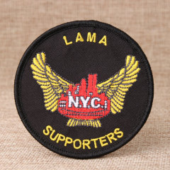 Lama Custom Iron On Patches