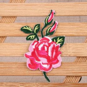 Rose Custom Patches No Minimum