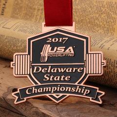 Custom Sport Medals for Powerlifting