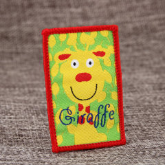 Giraffe Custom Made Patches