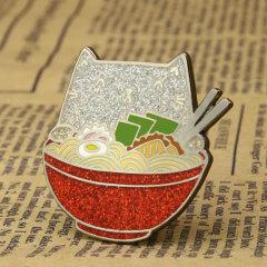 Ramen Cat Custom Pins