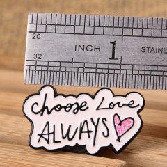 Choose Love Lapel Pins