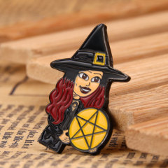 Witch Lapel Pins