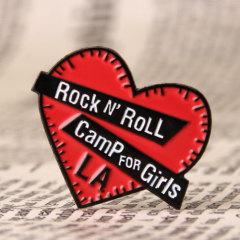 Rock Enamel Pins