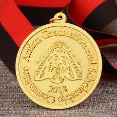 Aztlan Graduation Custom Medals