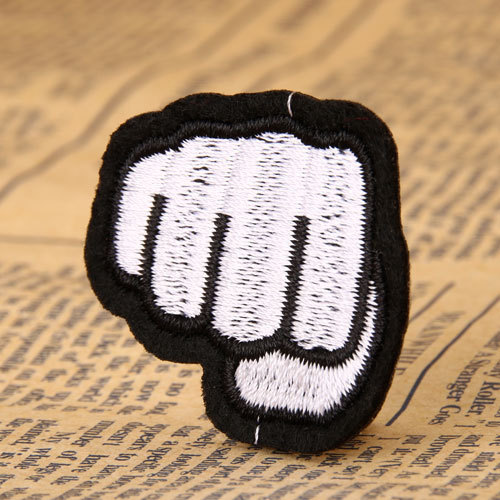 Fist Custom Made Patches