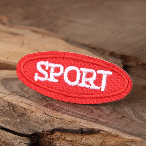 Sport Custom Embroidered Patches