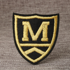 M Custom Embroidered Patches