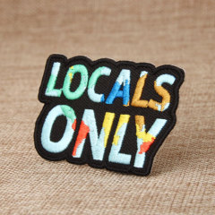 Locals Only Custom Patches