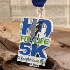 3D 5K Custom Race Medals