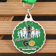 Girl Scouts Customized Medals