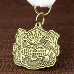Fierce Lion Custom Medals
