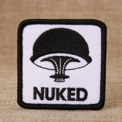 Nuked Custom Embroidered Patches