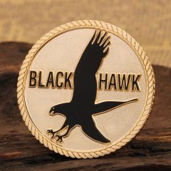 Black Hawk Custom Military Coins