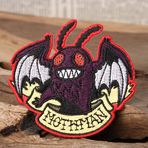 Mothman Cheap Custom Patches