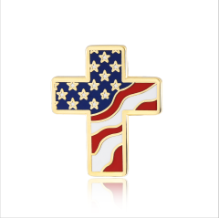 American flag lapel pins (S107)