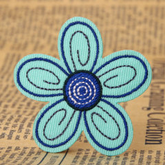 Flower Custom Made Patches No Minimum