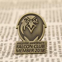 Falcon Club Custom Pins