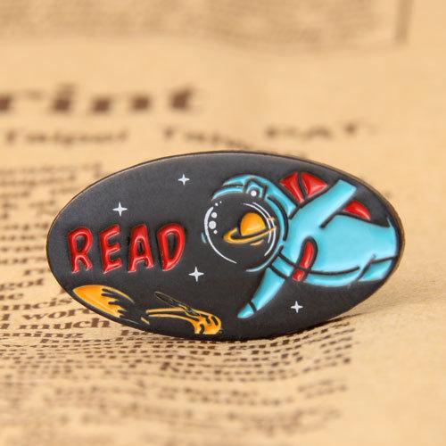 Spaceman Custom Pins