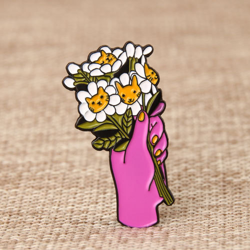 Cute Bouquet Lapel Pins